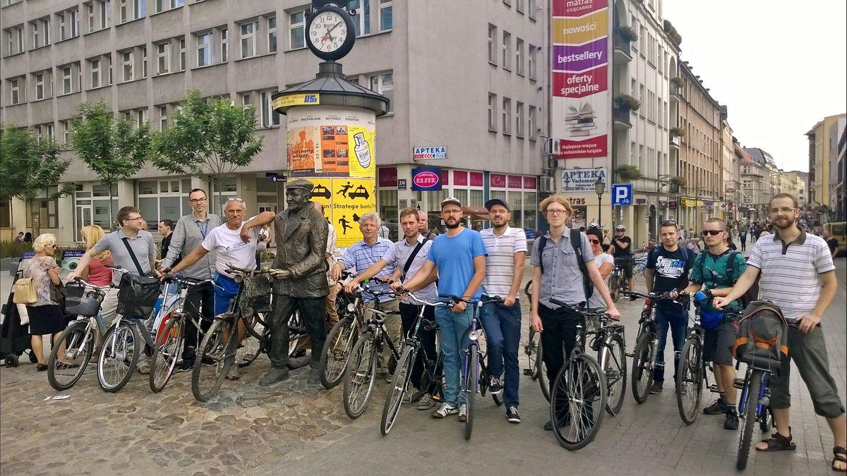 Patrol rowerowy Rady Osiedla Stare Miasto (1)
