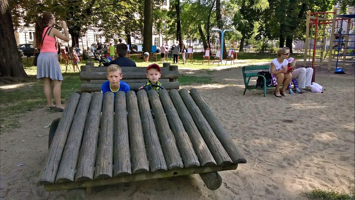 Piknik w Ogrodzie Jordanowskim (2)