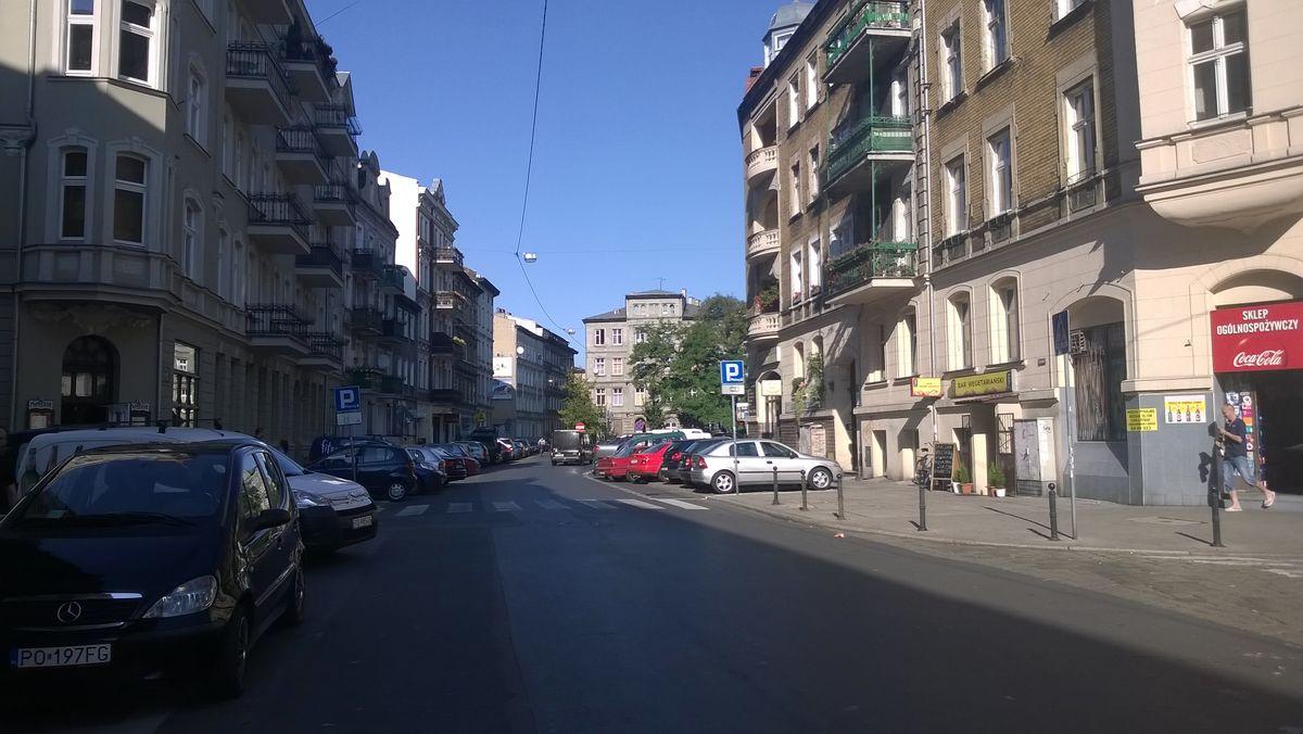 Ulica Rybaki, fot: Tomasz Dworek