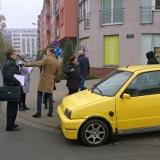 Obywatelski patrol na Osiedlu nad Wartą, fot.: Tomasz Dworek