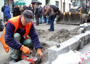 Prace na Wrocławskej, fot: UMP