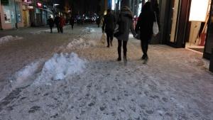 Śnieg na Polwiejskiej, fot. Tomasz Dworek