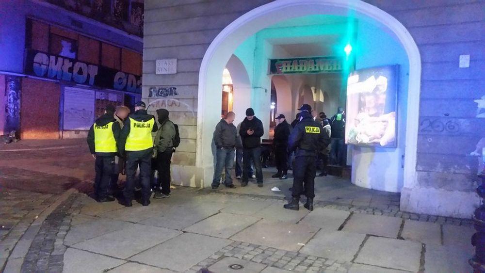 Nocna akcja Policji i Straży Miejskiej