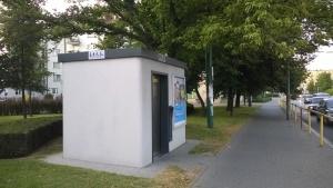 Publiczna toaleta przy Strzeleckiej