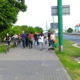 Trakt pieszo-rowerowy