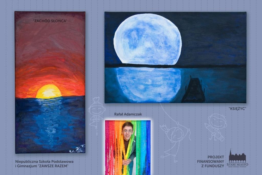 Prace młodych artystów - wystawa na skwerze Lukaszewicza (10)