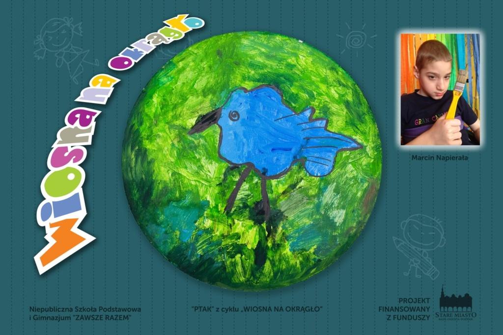 Prace młodych artystów - wystawa na skwerze Lukaszewicza (7)
