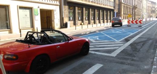Ratajczaka strefa parkowania, fot. Tomasz Dworek