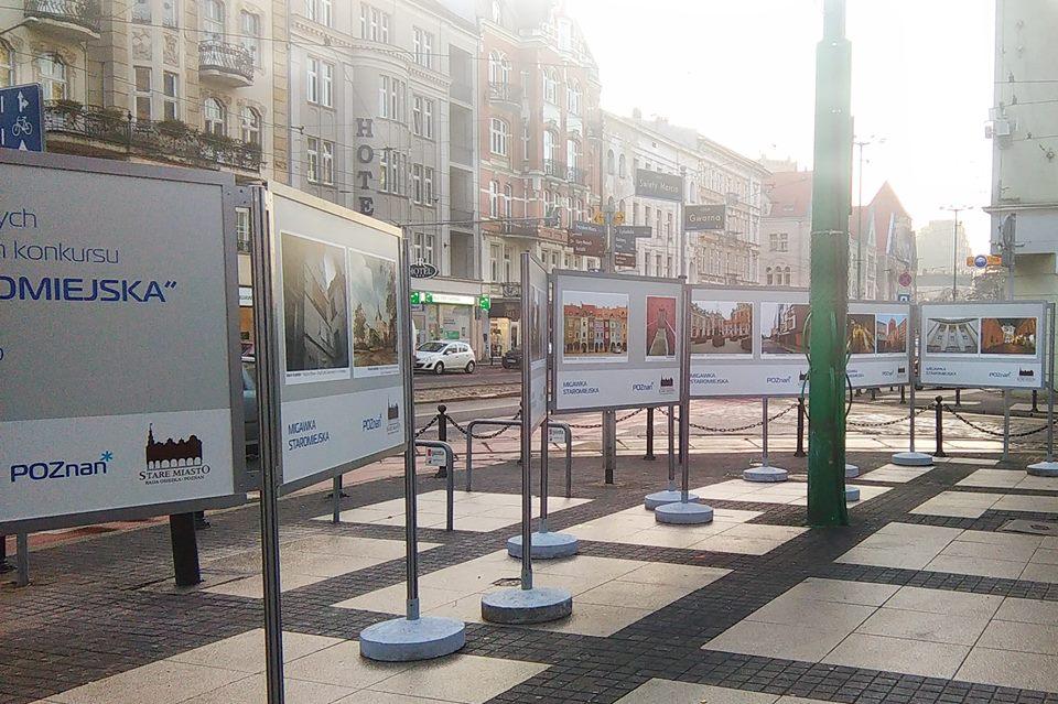 Staromiejska Migawka - wystawa prac w centrum Poznania
