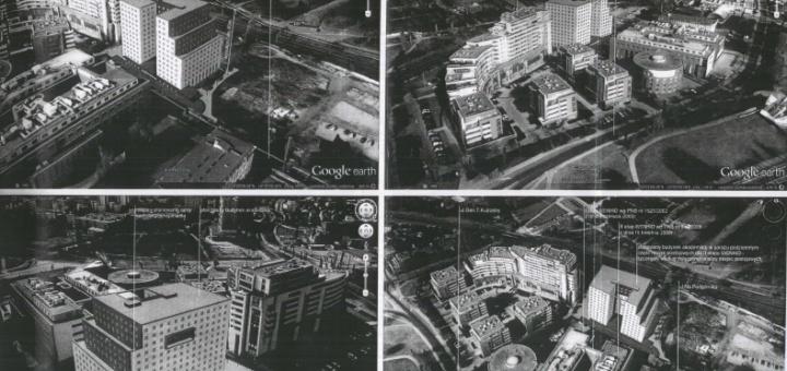 Plan akademika na Podgóniku