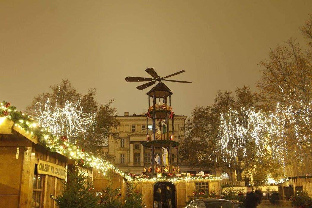 Świąteczy Plac Wolności -fot. Maria Sokolnicka - Guzek